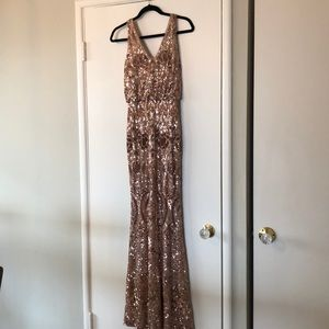 Sequin Evening Gown